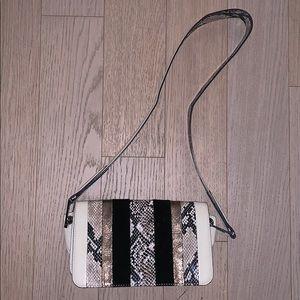 Sam eldeman snakeskin purse